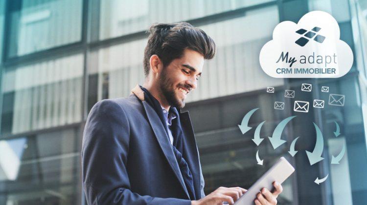 visuel agent immobilier tablette ipad prospection logiciel