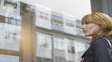 image illustrant une vitrine agence immobiliere