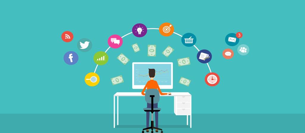 Illustration : les réseaux sociaux et la génération de chiffre d'affaire