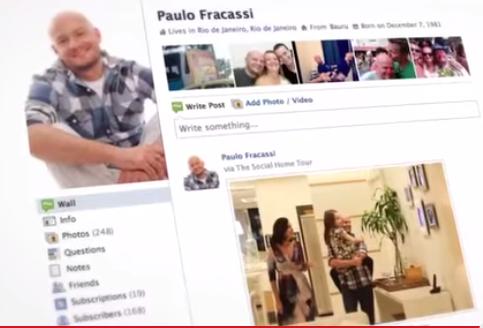 Les clients partagent leur visite sur Facebook, The social home tour