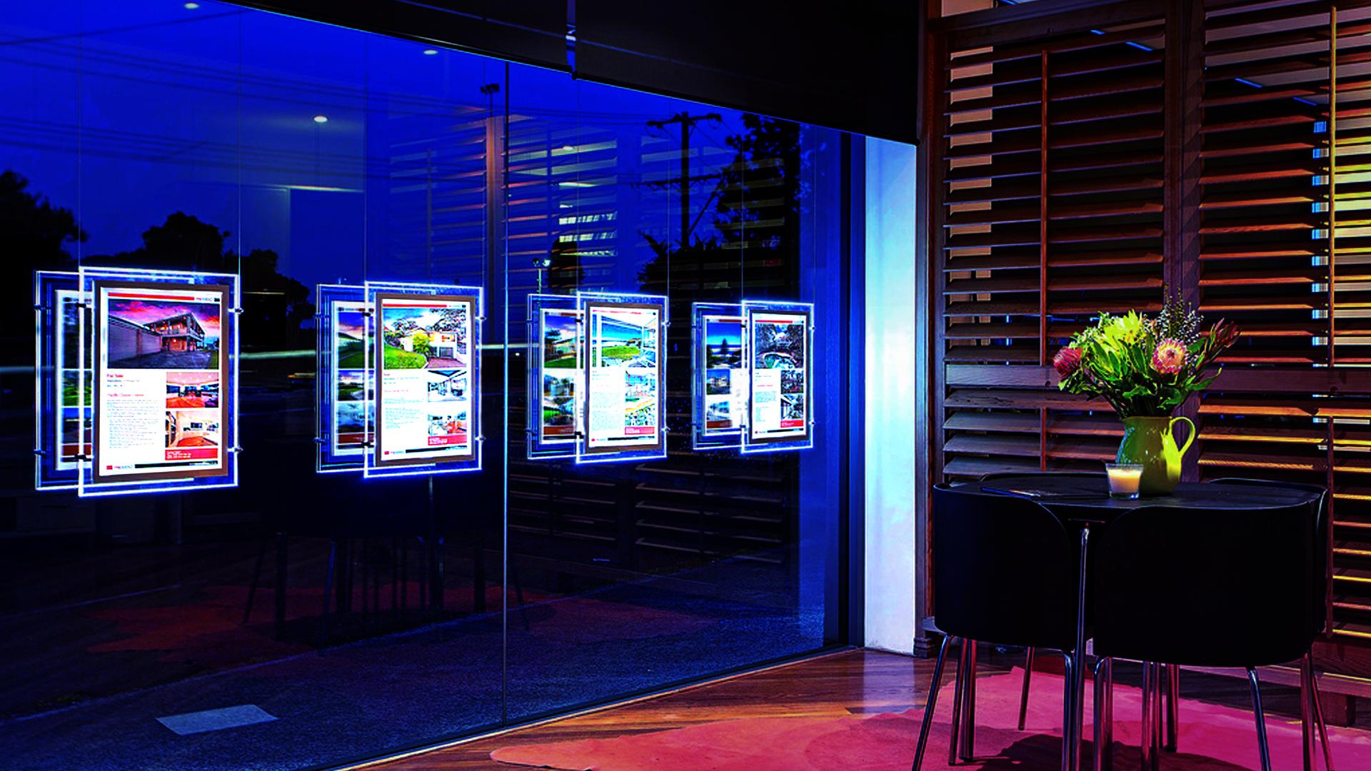 Agences immobili res soignez vos vitrines adapt immo news for Agence de vente