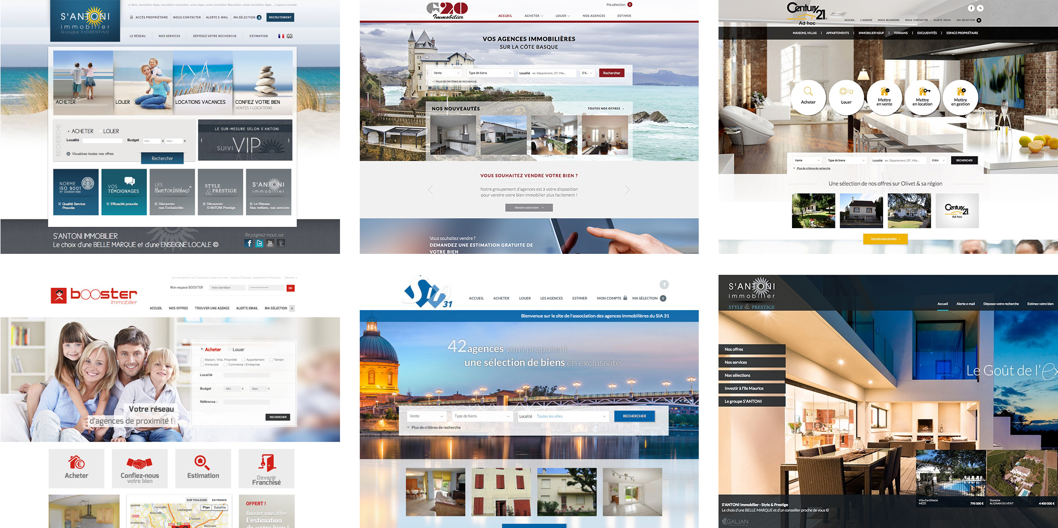 Site immobilier responsive design avantages adapt immo for Site immobilier