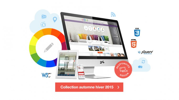 Visuel : tendances Webdesign 2015