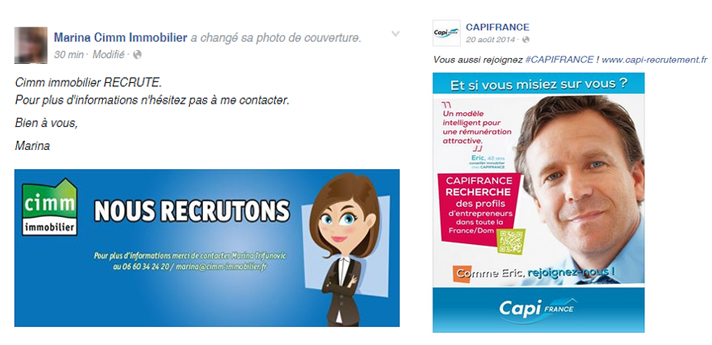 post facebook cimm immobilier et capifrance