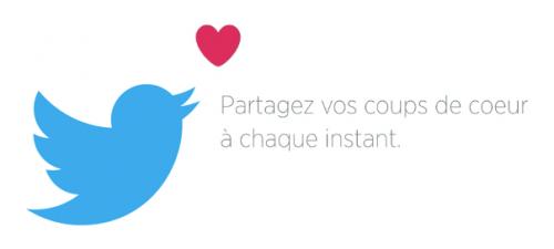 bouton j'aime sur twitter