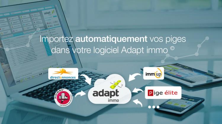 Diapo : gestion de la pige avec le logiciel Adapt immo