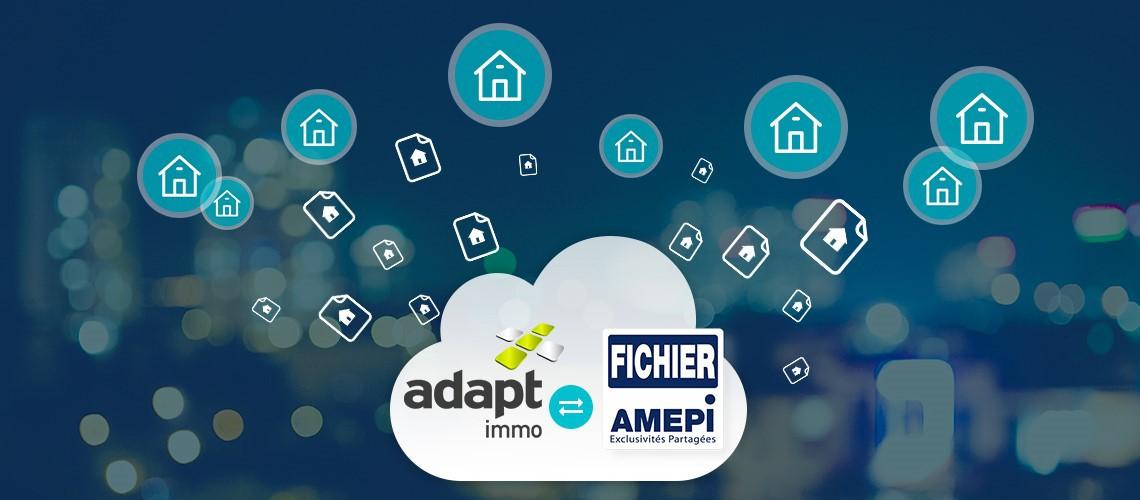 illustration logiciel Adapt immo compatible avec le fichier Amepi