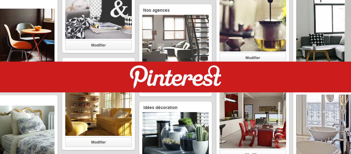 Photos de page pinterest dans l'immobilier