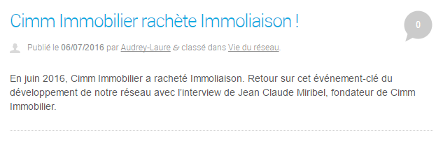 capture blog cimm immobilier actualité