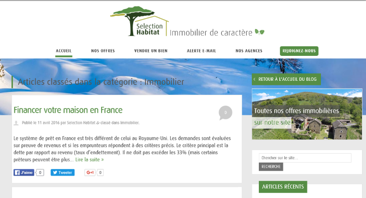 capture blog immobilier selection habitat