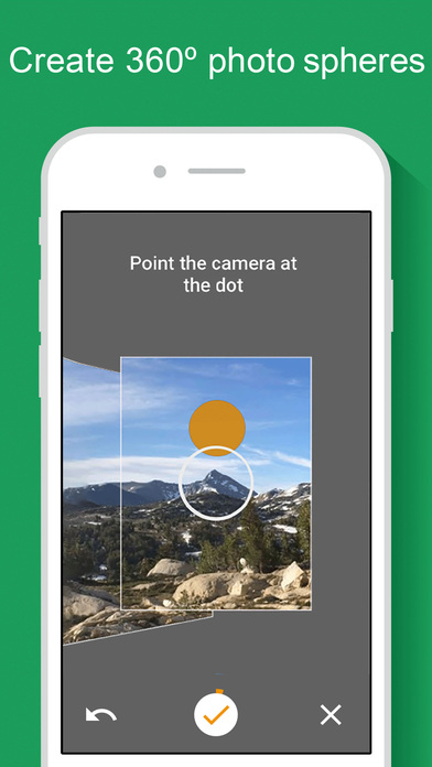 capture d'une application Street View photo video 360