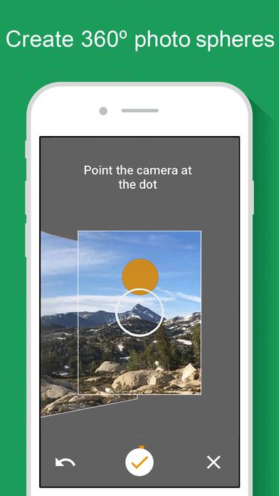 capture d'une application Street View photo video 360