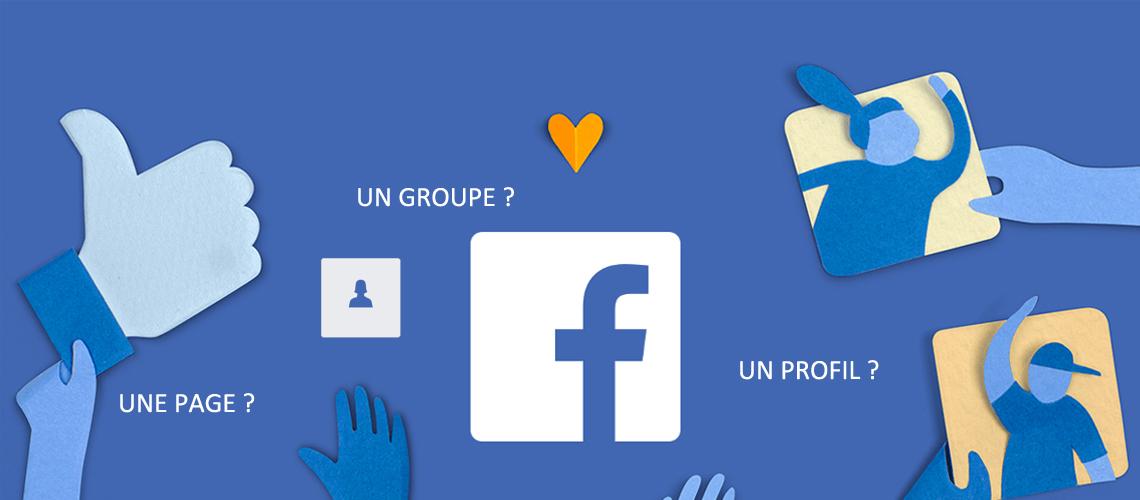 facebook- une page profil groupe