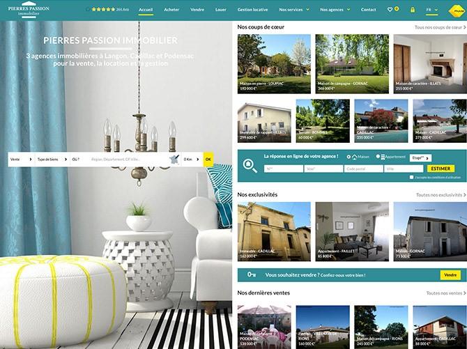 site tendance webdesign 2018