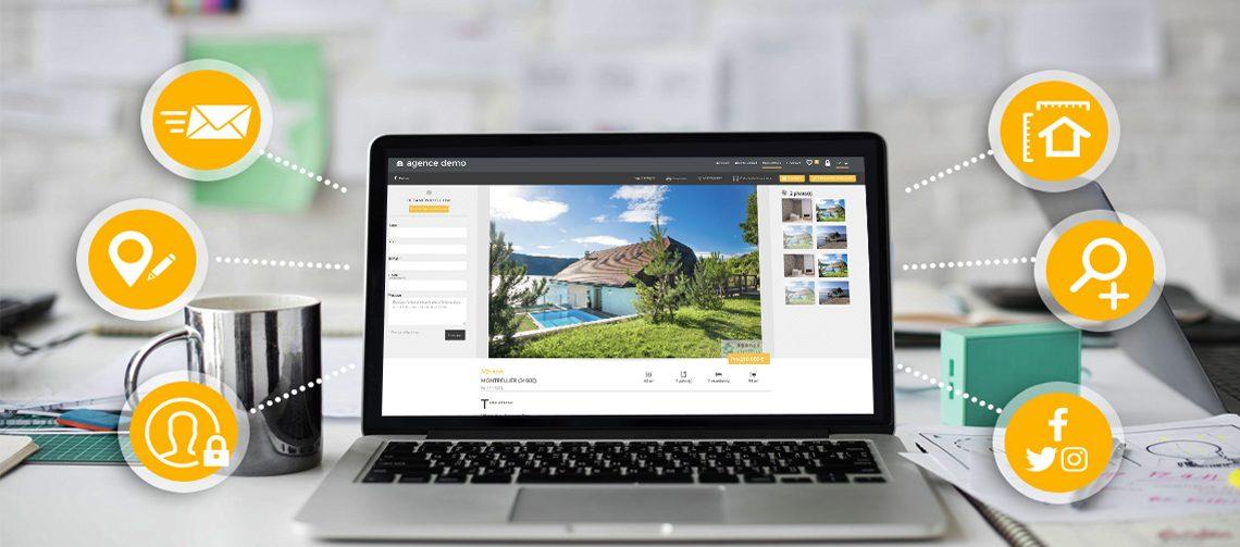 Site agence immobilière